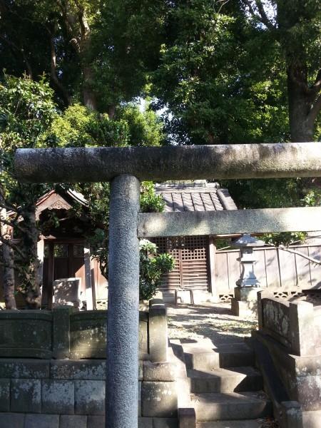 相模原にあった小さな神社