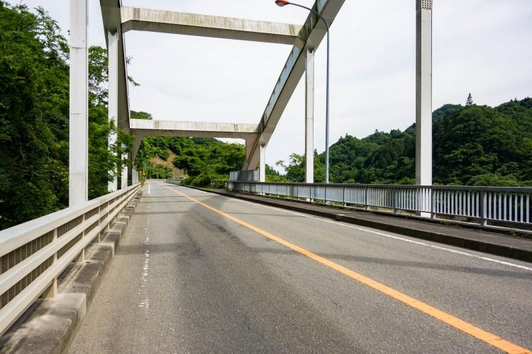 宮ケ瀬湖の橋
