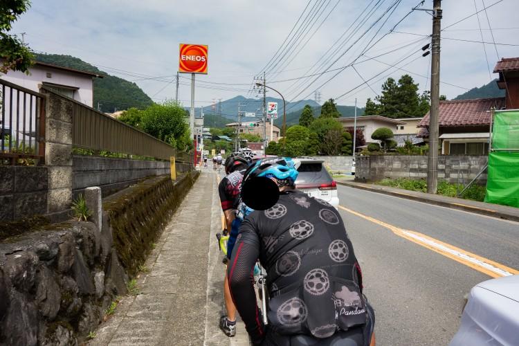 檜原村役場までの道中