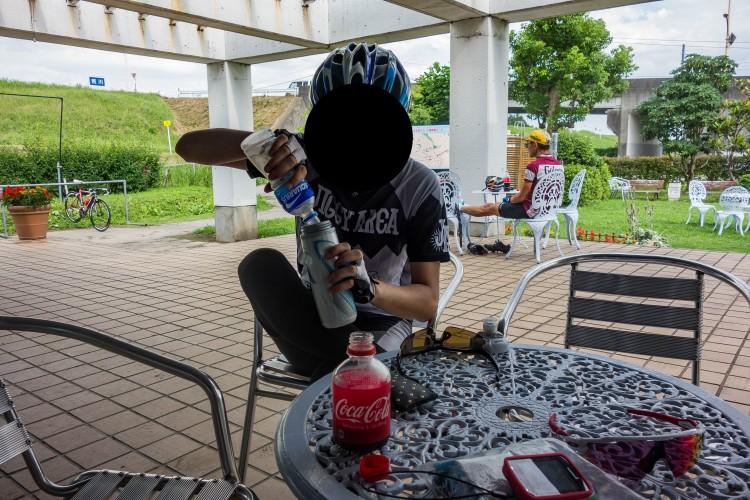 荒川サイクリングロード 休憩所