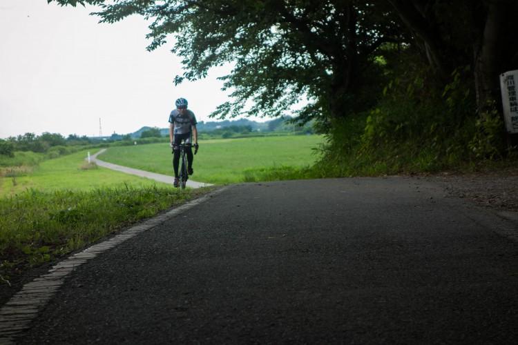 荒川サイクリングロード 榎本牧場付近