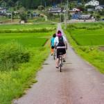 ママチャリで安曇野⇔木崎湖をサイクリング~夏の大冒険~