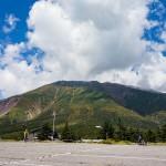 神の山「御嶽山」標高2180mへヒルクライム